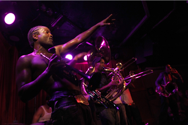 Hypnotic Brass Ensemble, 2010