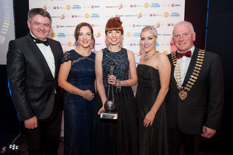 Emerging Enterprise Award from Galway Chamber