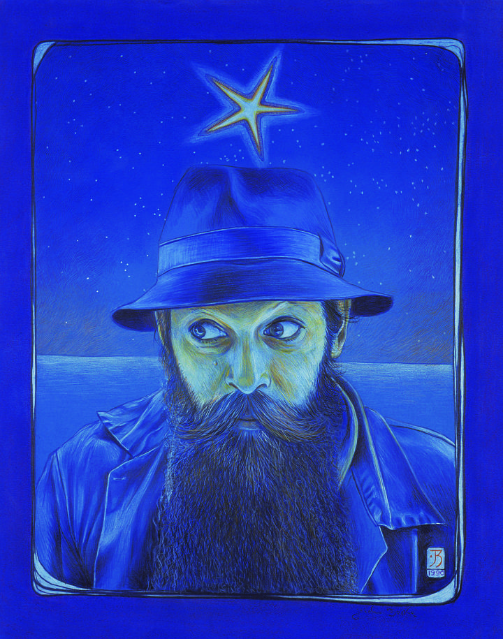 Self portrait, 1990