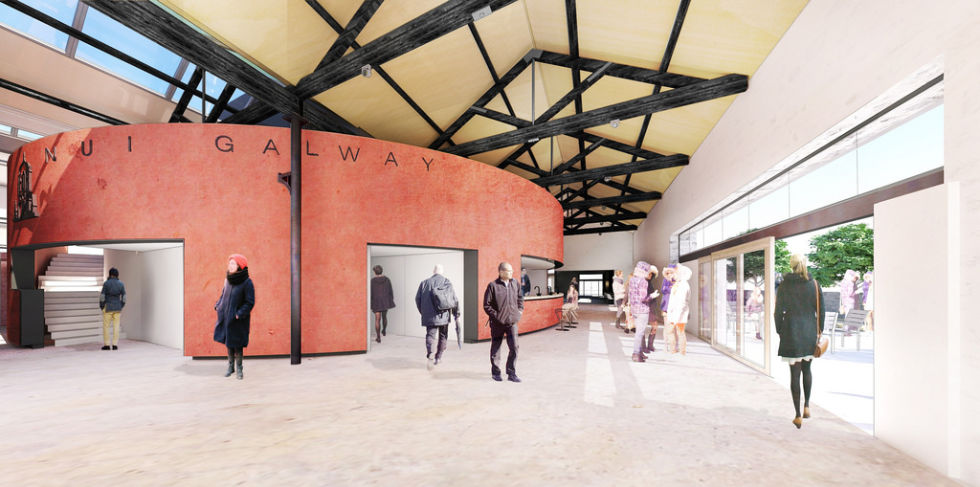 Architect's image of new theatre space