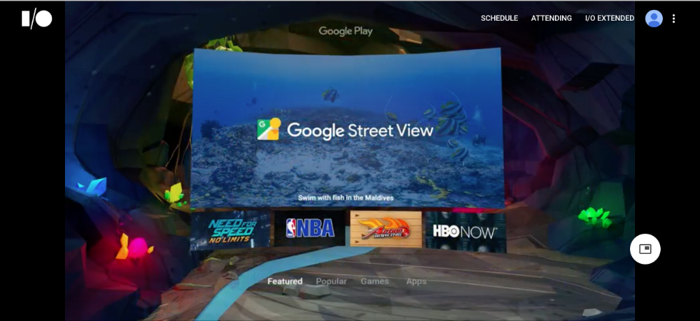 Google I/O keynote including Action Bowling by Tribal City Interactive, May, 2016
